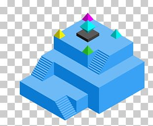 Monument Valley Isometric Projection Android Drawing PNG