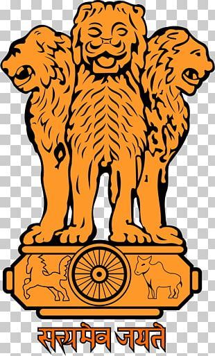 State Emblem Of India Coat Of Arms Flag Of India Lion Capital Of Ashoka PNG