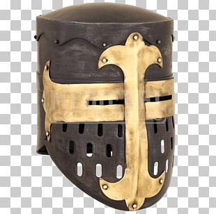 Middle Ages Crusades Great Helm Knight Helmet PNG