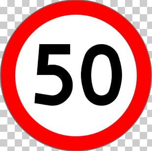 Prohibitory Traffic Sign Speed Limit Stock Photography PNG