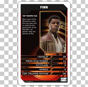 Top Trumps Luke Skywalker Finn Star Wars PNG