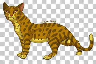 Cats Of The Clans Warriors Leopardstar Erin Hunter PNG