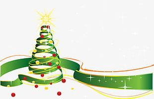 Celebrate Christmas Tree PNG