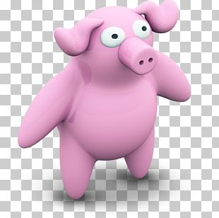 Domestic Pig Paper The Three Little Pigs Purple Animal PNG