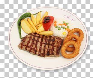 French Fries Full Breakfast Junk Food Sirloin Steak Rib Eye Steak PNG