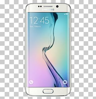 Samsung Galaxy S6 Edge Smartphone Android Telephone PNG