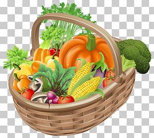 Vegetable Basket Fruit PNG