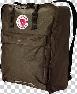 Fjällräven Kånken Laptop Backpacking PNG