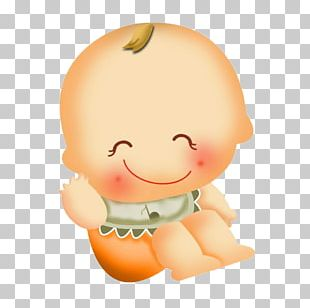Cartoon Infant Boy Child PNG