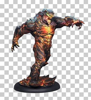 Elemental Dark Ages Game CMON Limited Miniature Figure PNG