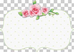 Pink Vintage Paper Rose Flower PNG