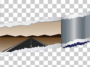 Road Highway Paper PNG