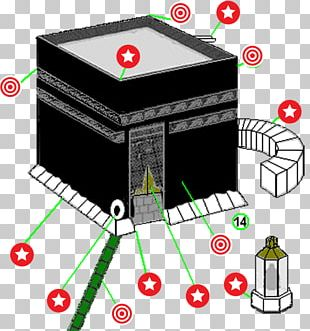 Kaaba Great Mosque Of Mecca Black Stone Hajr Ismail PNG