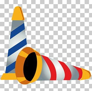 Angle Yellow Cone Vehicle PNG