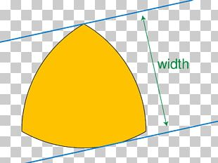 Reuleaux Triangle Curve Of Constant Width Shape Circle PNG