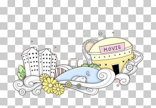 Building Architecture Stroke Cartoon PNG