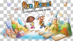 Run Marco! Fun For Kids Code.org Learning Computer Programming PNG