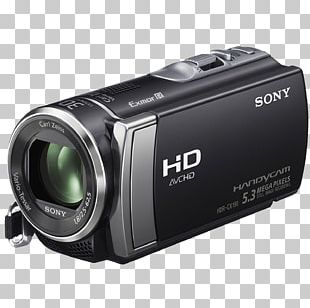 Video Camera Handycam 1080p Sony Camcorders PNG