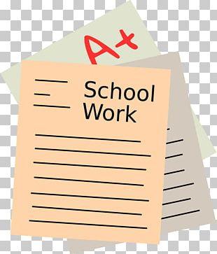 School Coursework Student PNG