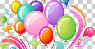 Party Toy Balloon Birthday PNG