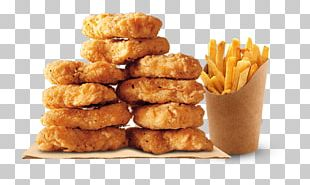 Burger King Chicken Nuggets Hamburger Chicken Fingers French Fries PNG