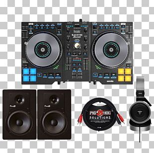 DJ Controller Disc Jockey Hercules DJ Control Jogvision Audio Mixers Serato Audio Research PNG