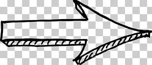 Drawing Arrow Sketch PNG