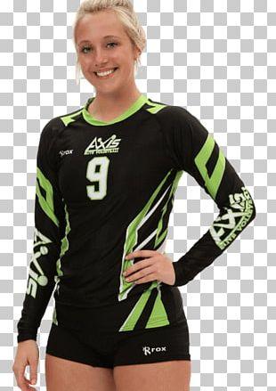 Long-sleeved T-shirt Jersey Cheerleading Uniforms Long-sleeved T-shirt PNG