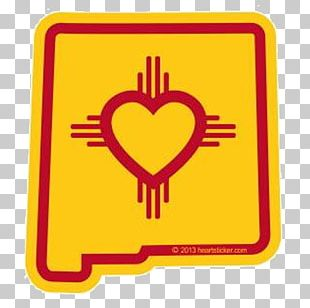 Flag Of New Mexico Decal Bumper Sticker PNG