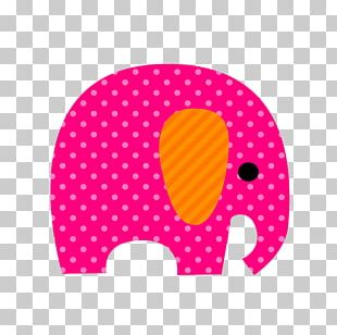 Paper Elephant Drawing Party Scrapbooking PNG