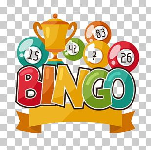 Bingo Card Lottery Illustration PNG