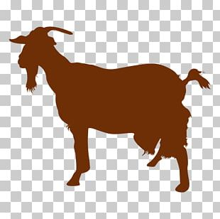 Boer Goat Sheep Feral Goat Silhouette PNG