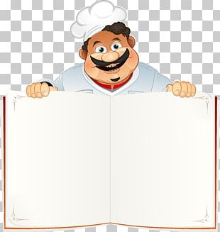 Chef Cooking Restaurant Cookbook PNG