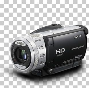Handycam Camcorder Sony Hard Disk Drive High-definition Video PNG