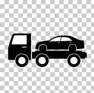 Car Tow Truck Flatbed Truck PNG