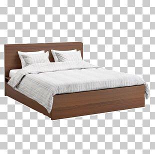 Bed Frame Platform Bed Furniture IKEA PNG