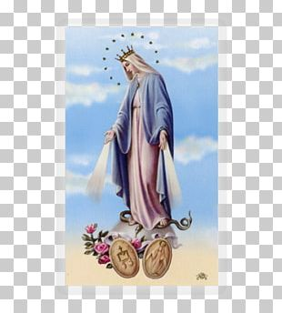 Our Lady Of Fátima Miraculous Medal Holy Card Grace In Christianity PNG