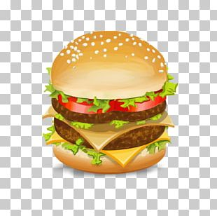 Cheeseburger Fast Food McDonald's Big Mac Veggie Burger PNG