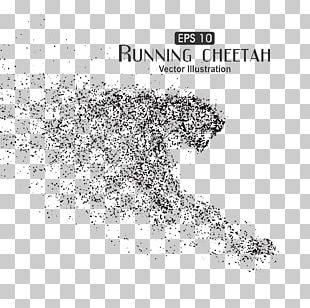 Cheetah Particle Euclidean Illustration PNG