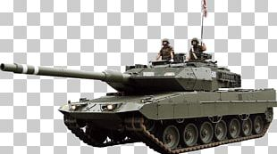 Churchill Tank Self-propelled Artillery Gun Turret Leopard 2E PNG