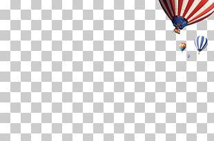 Hot Air Balloon Sky Pattern PNG