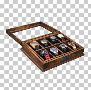 Box Solar-powered Watch Display Case Casket PNG