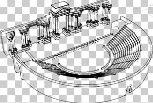 Roman Theatre Theater PNG