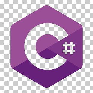 C# Programming Language Logo Microsoft Visual Studio .NET Framework PNG