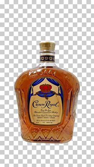 Crown Royal Blended Whiskey Canadian Whisky Liqueur PNG
