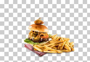 French Fries Hamburger Breakfast Sandwich Fast Food Buffalo Burger PNG