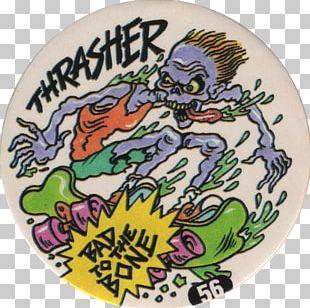 Thrasher Skateboarding Surfing Magazine PNG