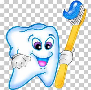 Tooth Brushing Cartoon PNG