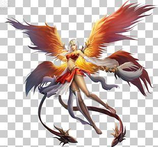 Anime Phoenix Desktop PNG