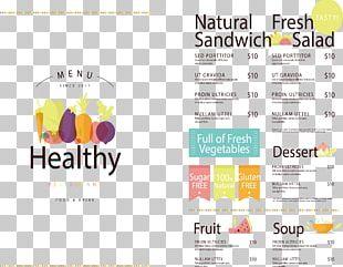 Vegetarian Cuisine Organic Food Menu Health PNG